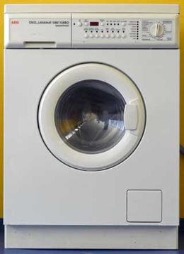 Waschtrockner AEG Öko Lavamat 1480 Turbo: gebrauchter Waschtrockner von AEG - 1400 Upm - 5 kgStandort: Filiale Berlin Schöneberg